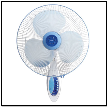 MIYAKO WALL FAN KAW-1689 REMOTE PCS
