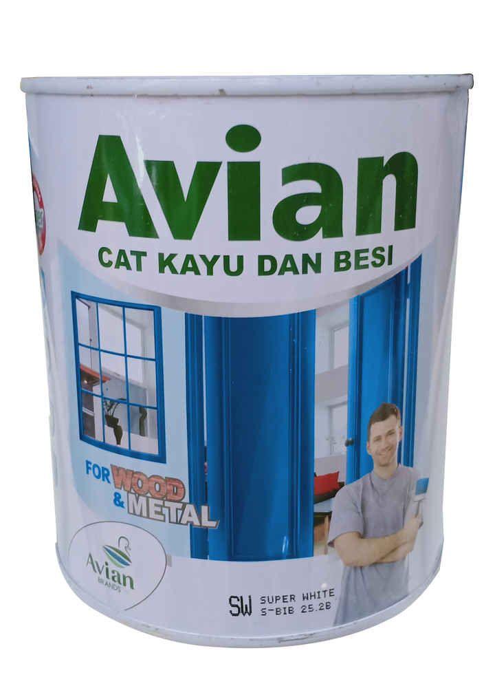 AVIAN SY. SUPER WHITE 0.9 LTR KLG
