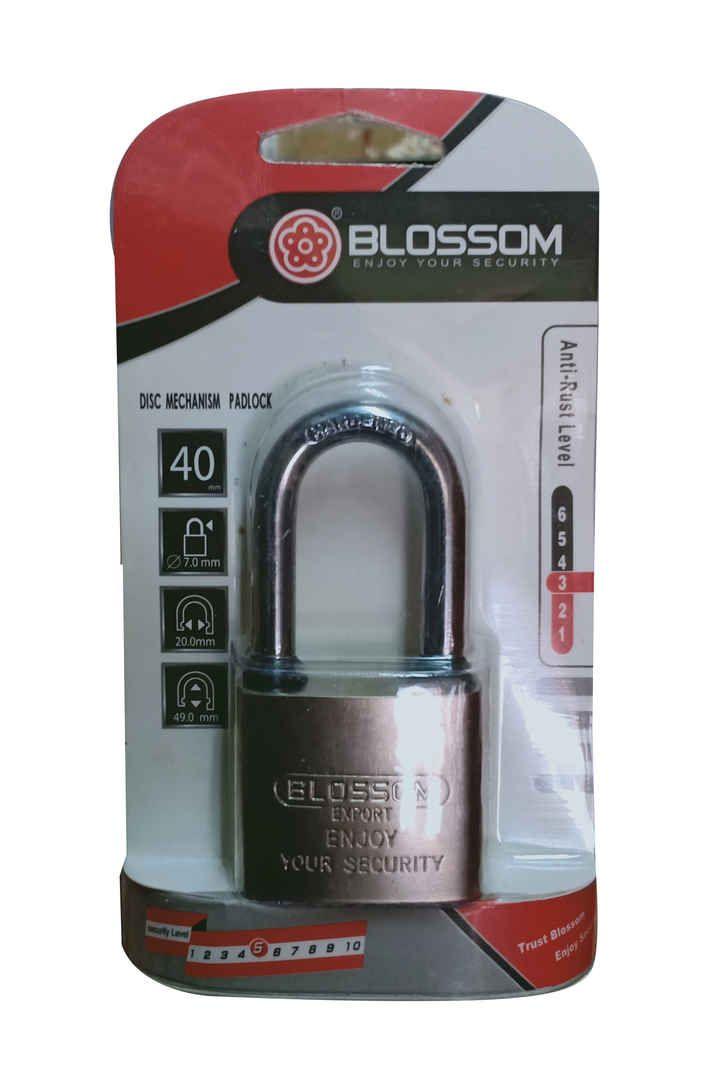 BLOSSOM GEMBOK KTK/OVAL CHR PJG LS0140/LS3200 L 40MM PCS