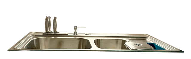 GB GBVGS4206 TOP TABLE STAINLESS STEEL SINK PCS