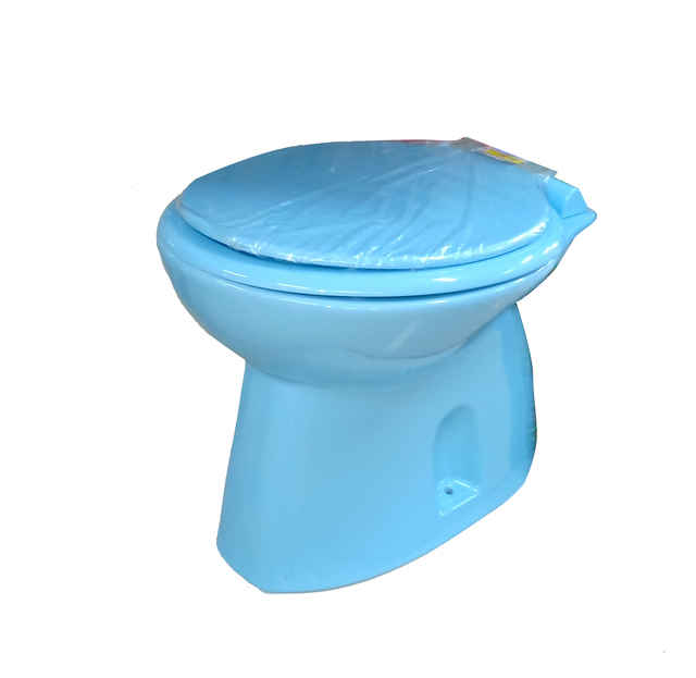AMSTAD NEW GAYA PAIL FLUSH SKY BLUE UNIT